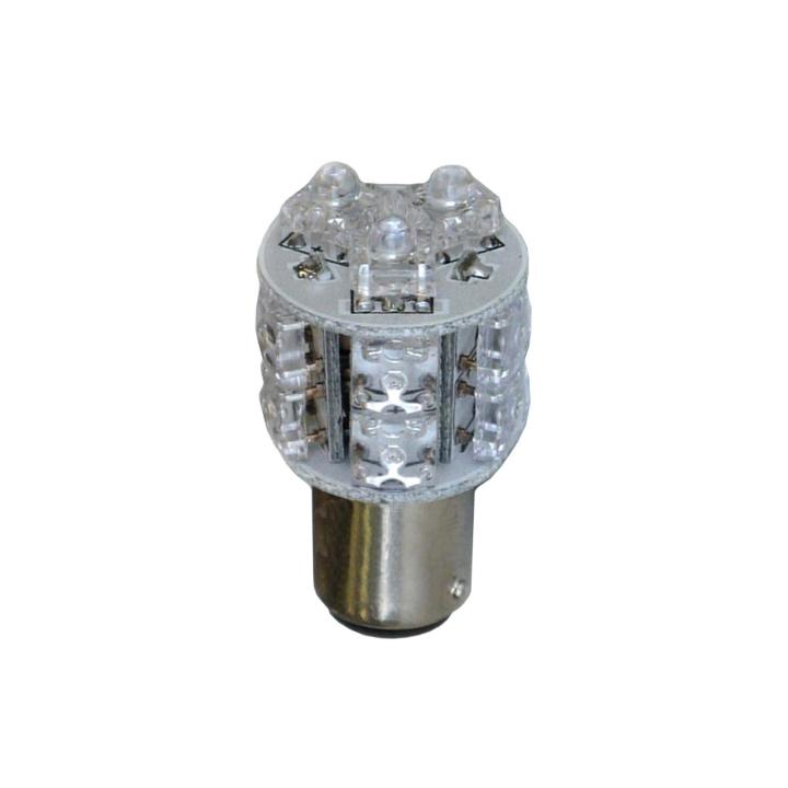 121-LED1156A <BR />L.E.D. #1156 Amber Miniature Bulb
