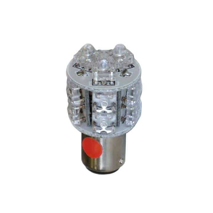 121-LED1157A <BR />L.E.D. #1157 Amber Miniature Bulb