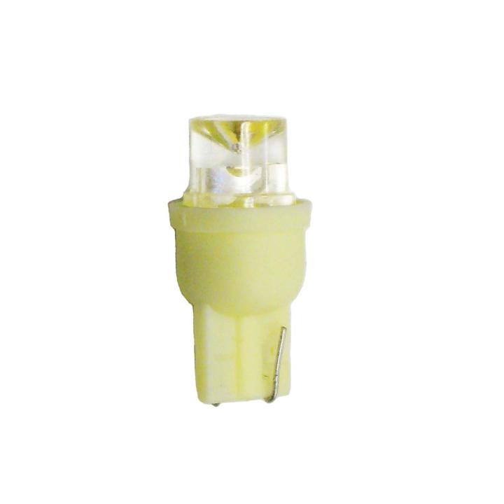 121-LED194A <BR />L.E.D. #194 Amber Miniature Bulb