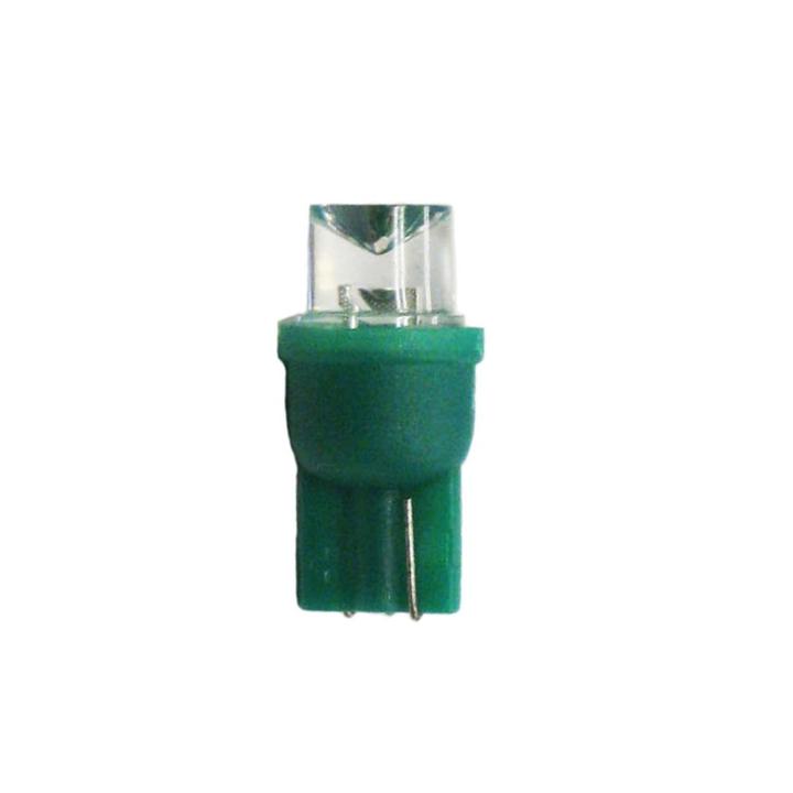 121-LED194G <BR />L.E.D. #194 Green Miniature Bulb