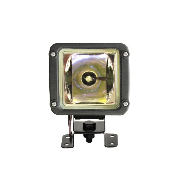 "123-30303HIDA <BR />3""x 3"" H.I.D. Light in Plastic Composite Housing – Amber"