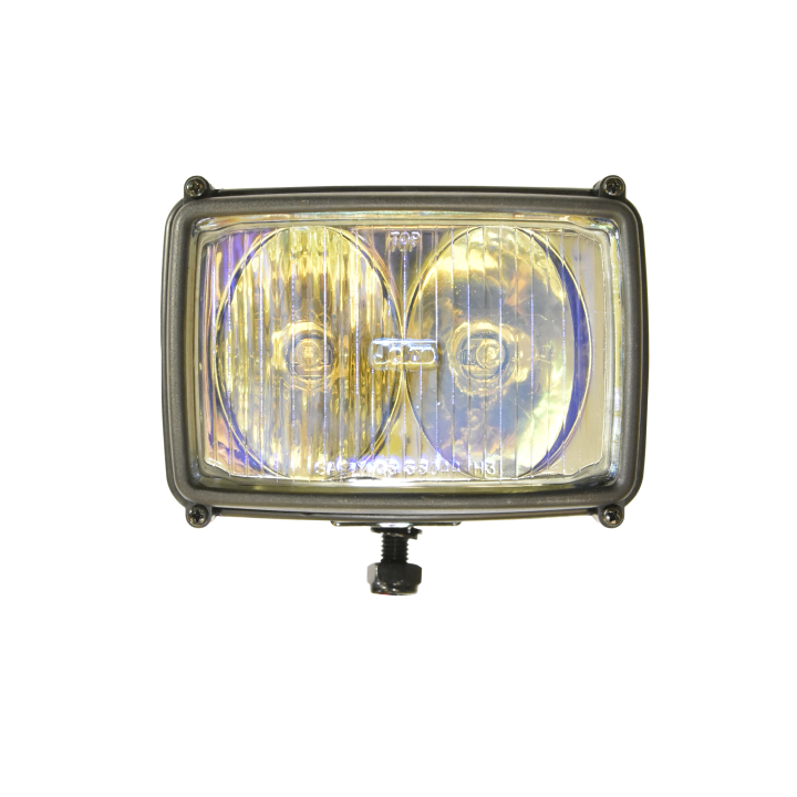 "123-33044MC <BR />4""x 6"" Dual Halogen Auxiliary Driving Light"