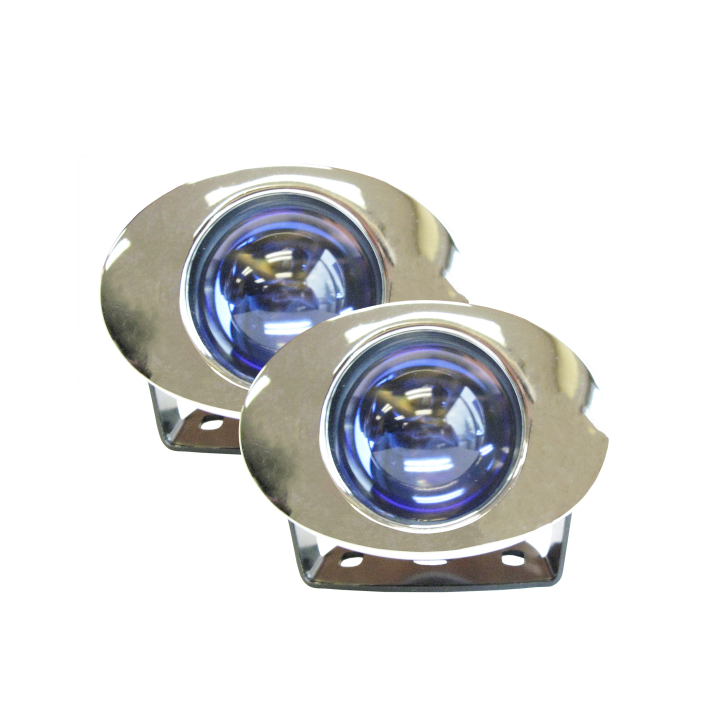 "123-S92006C <BR />2.5"" × 3"" Oval Halogen Projector Amber Spot Light Kit"