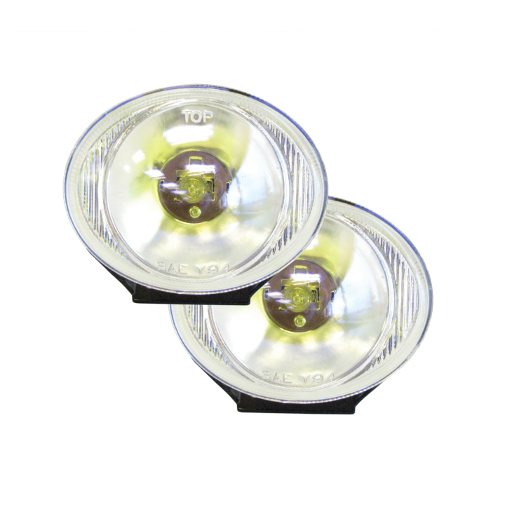 "123-S97356 <BR />3"" × 4"" Oval Halogen Amber Driving Light Kit"