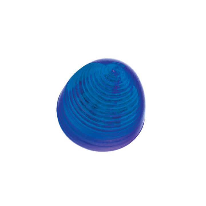 126-1018B <BR />2″ Beehive Marker Lamp – Blue