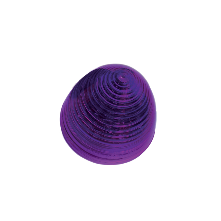 126-1018P <BR />2&#8243; Beehive Purple Marker Lamp