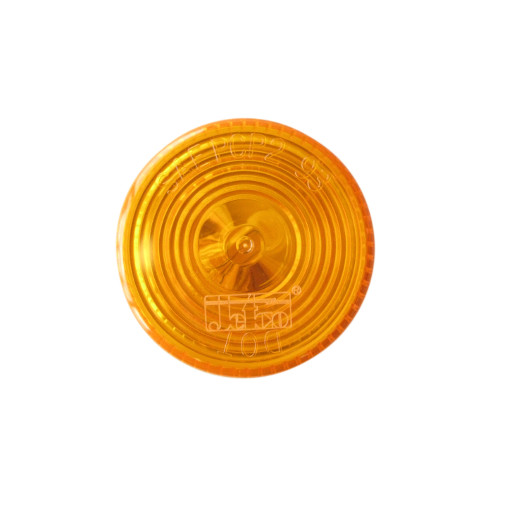 "126-1030A <BR />2"" Round Halogen Amber Sealed Marker Lamp"