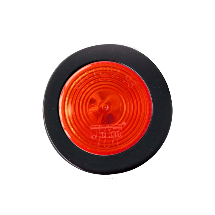 "126-1030KR (Kit)<BR />2"" Round Halogen Red Sealed Marker Lamp"