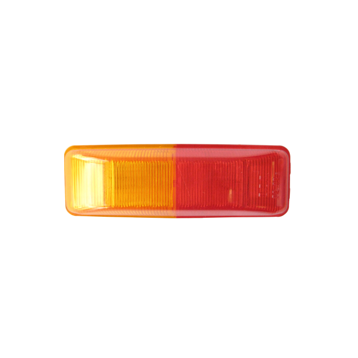 "126-1900AR <BR />1"" × 4"" Dual Red/Amber Sealed Marker Lamp"