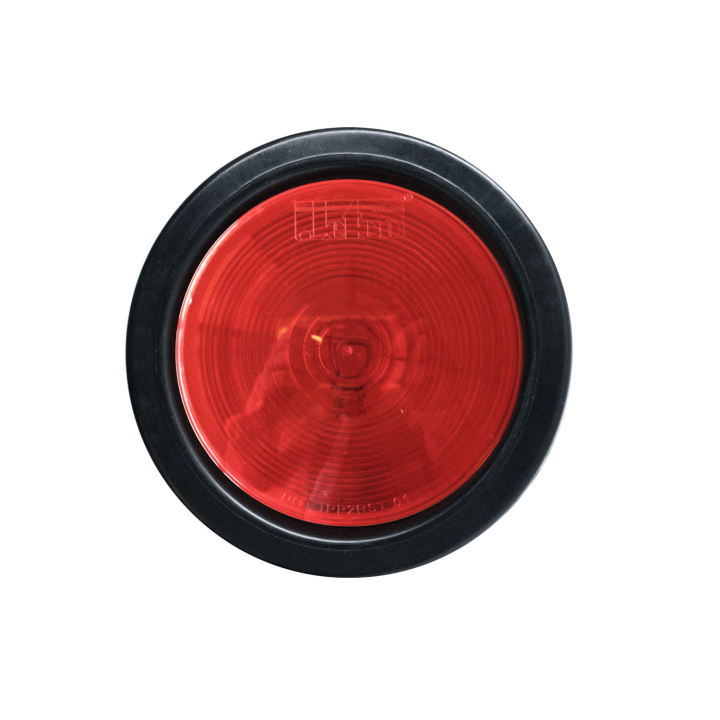 "126-4040KR <BR />4"" Round Red S/T/T Sealed Lamp Kit"
