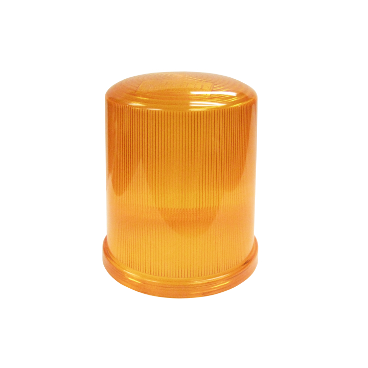 126-L67033A <BR /> Amber Replacement Lens For 126-67033 Series Strobe
