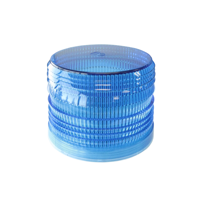126-L67412B <BR /> Blue Replacement Lens For 126-LED67412 Series Strobe