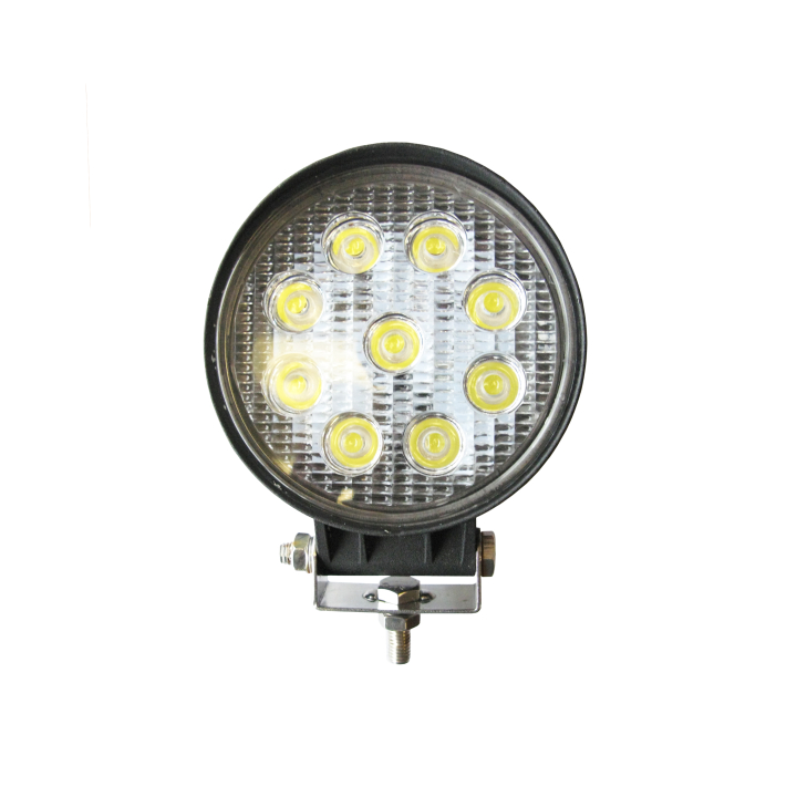 "300-390F <BR /> 4.5"" Round L.E.D. Work Light – Flood"