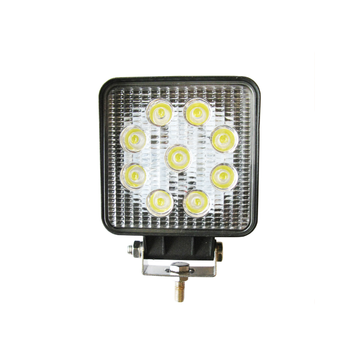 "300-391F <BR /> 4"" x 4″ L.E.D. Work Light – Flood"