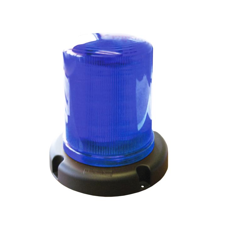 "126-67033B <BR />6"" L.E.D. Blue Warning Beacon Strobe"