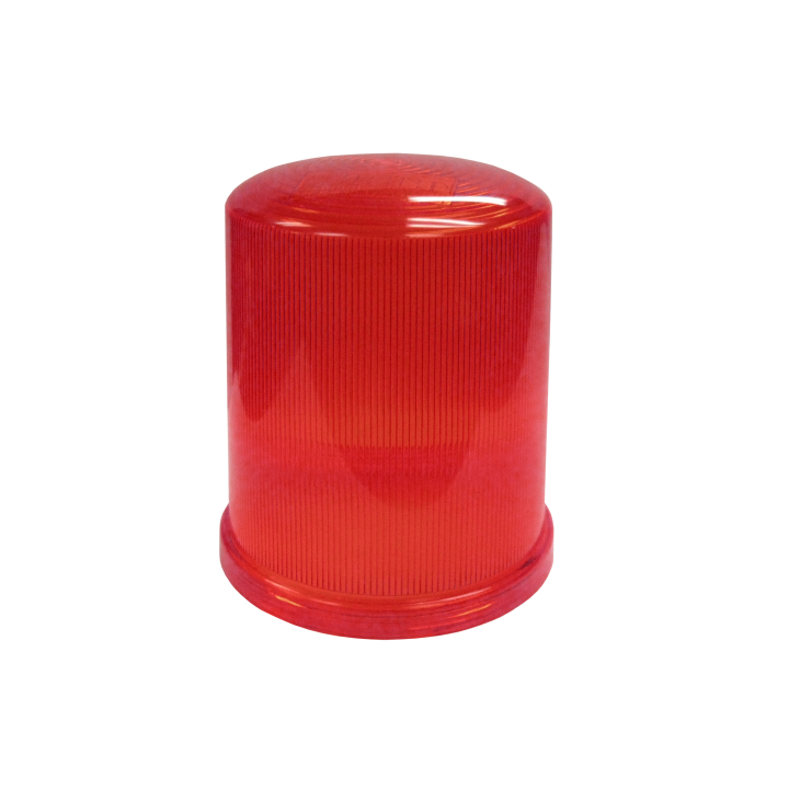 126-L67033R <BR /> Red Replacement Lens For 126-67033 Series Strobe