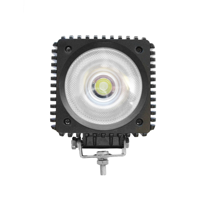 300-1501S<br/>4.5″ Square L.E.D. Single Diode COB Light – Spot