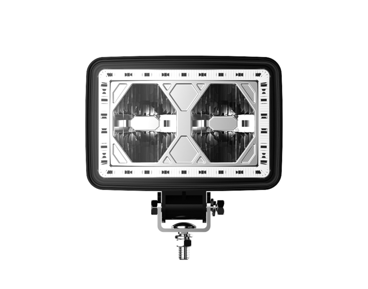 123-33066 <BR /> 4″ x 6″ DOT Approved L.E.D. Driving Auxiliary Light