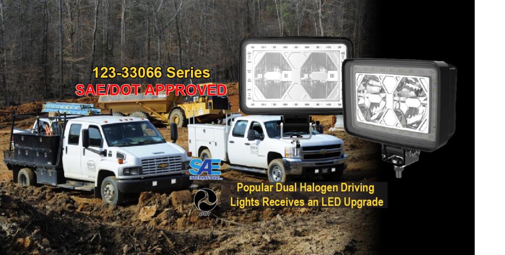 NEW DOT Street-Legal L.E.D. Driving Auxiliary Light