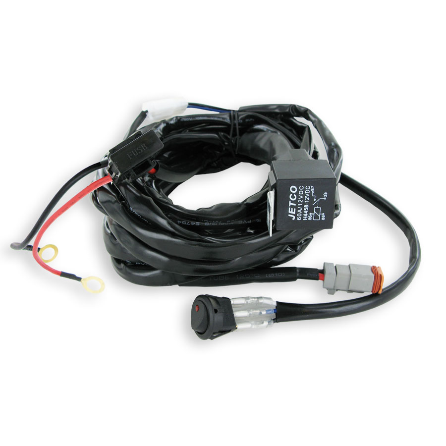 123 Hr60114 Deluxe Wiring Harness Jetco Wire Components Electrical Mounting Accessories And