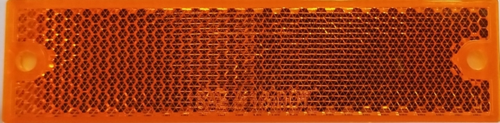 127-19014AB <BR /> Amber Reflector